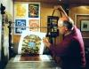 Ausstellung Maler-Zang-Haus, Malerei und Grafik aus 4 Jahrzehnten von Herbert Hess im Kulturzentrum Goldener Engel, Baumholder